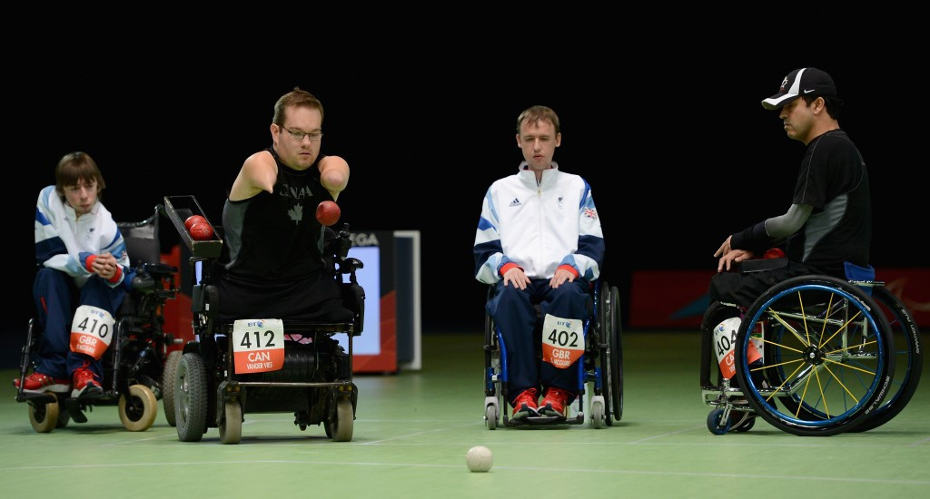 London 2012 bronze medallist Marco Dispaltro (right) is one of the headline names on Canada's boccia team for Rio 2016 ©Getty Images