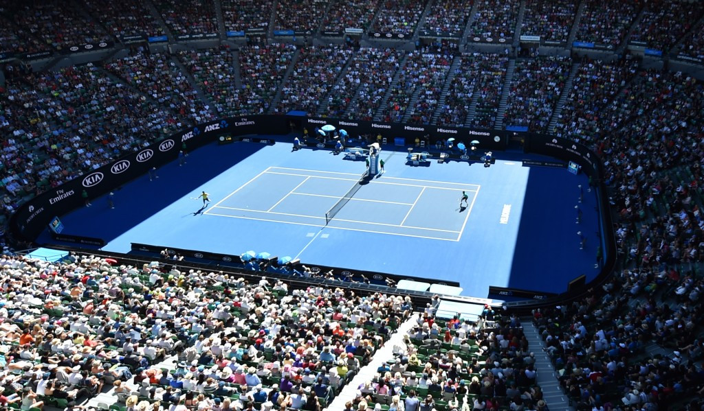 This year's Australian Open was overshadowed by match-fixing allegations ©Getty Images