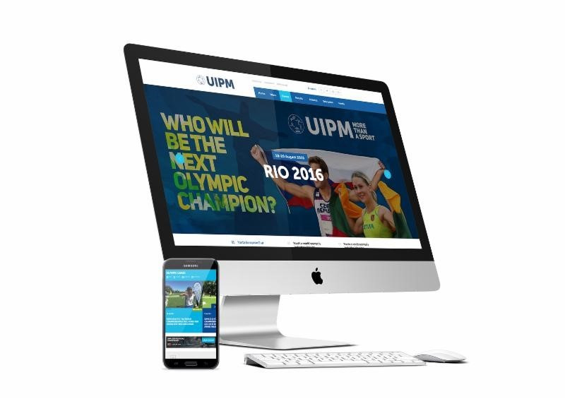 UIPM launch new website in time for Rio 2016