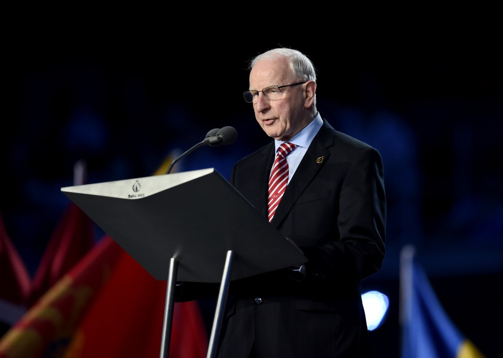 EOC President Patrick Hickey's hopes of preserving the European Games effectively rest on persuading Russia to host the 2019 edition, but they have suffered a blow today ©Getty Images