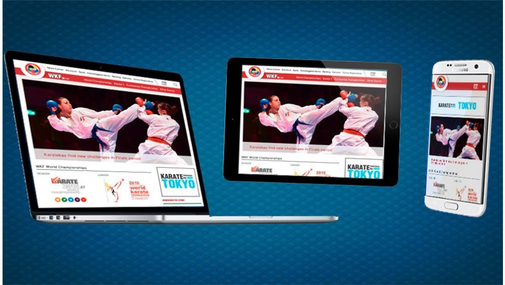 "WKF launch ""modern and updated"" website"