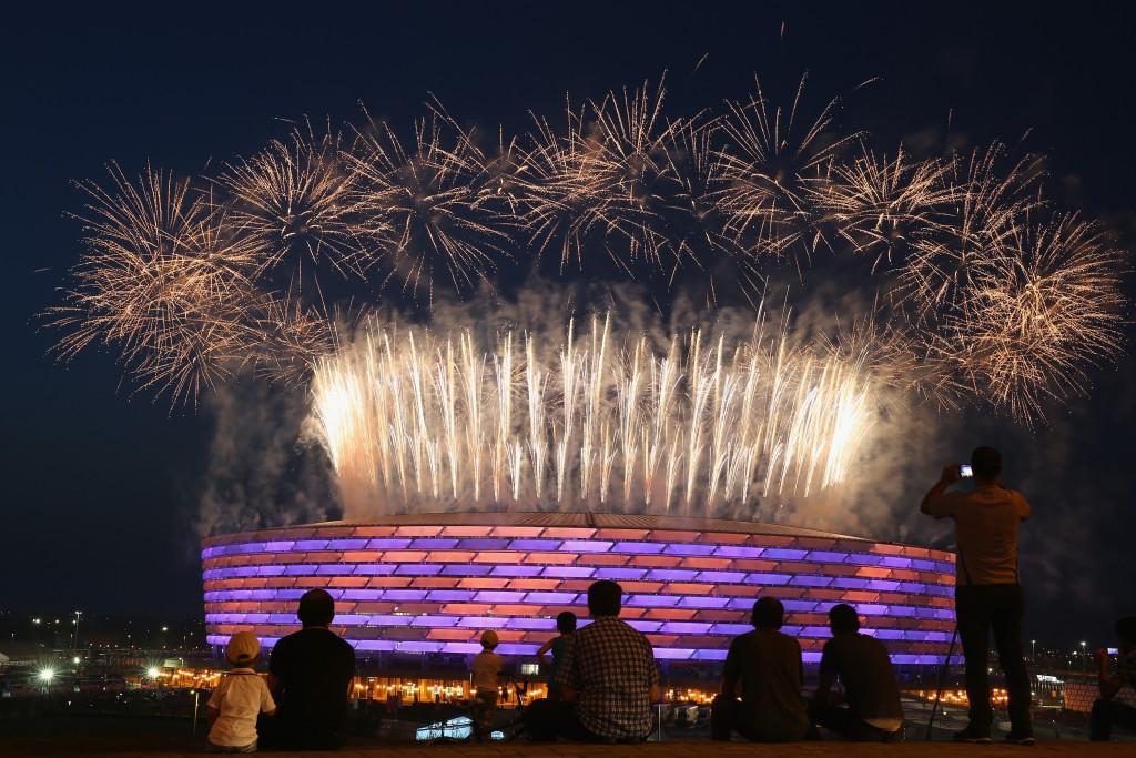 Azerbaijan's capital Baku played host to the inaugural European Games last year ©Getty Images