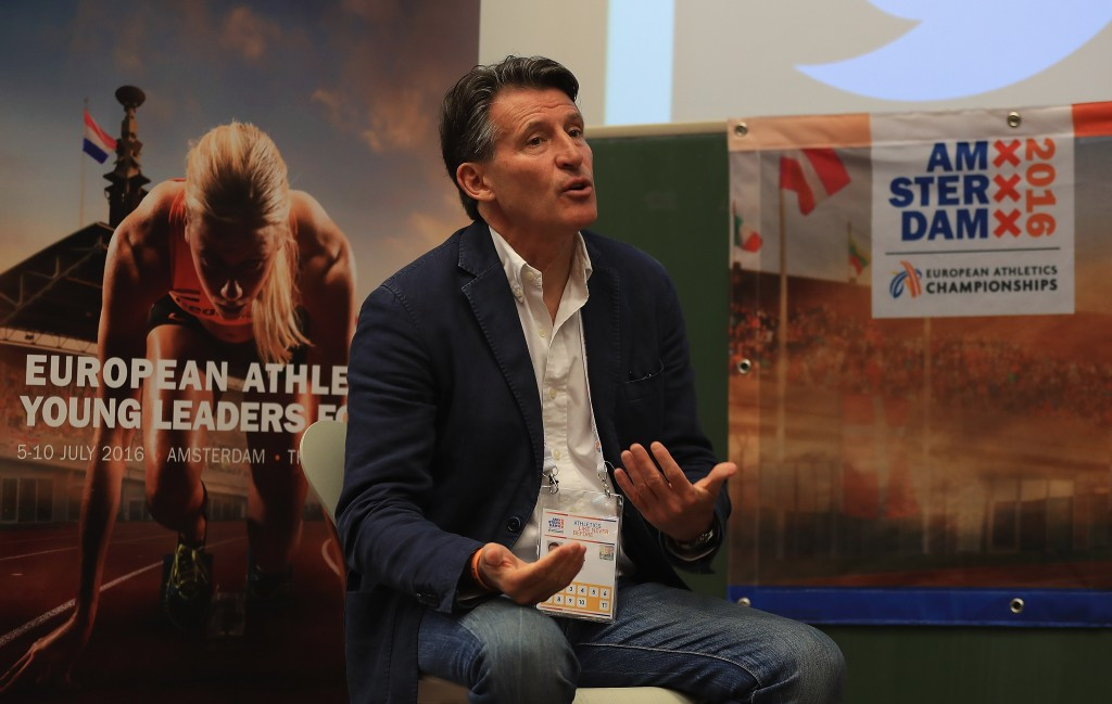 Sebastian Coe attended the CAS hearing personally ©Getty Images