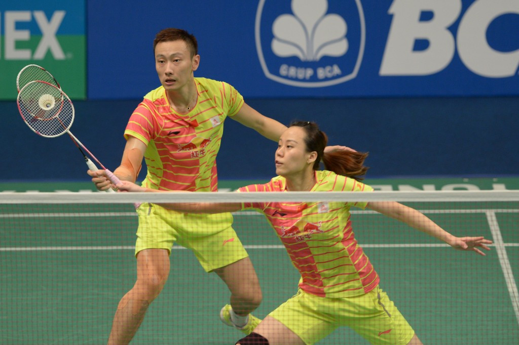 "Zhao's hopes of historic badminton ""double-double"" at Rio 2016 are ended by China"