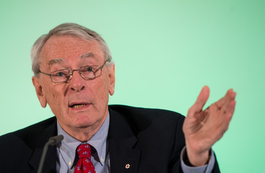 Dick Pound has claimed it would be hard for the IOC to ignore calls for a full ban on the Russian team ©Getty Images