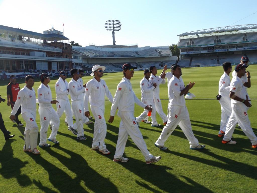 Nepal's cricketers targeting test match status