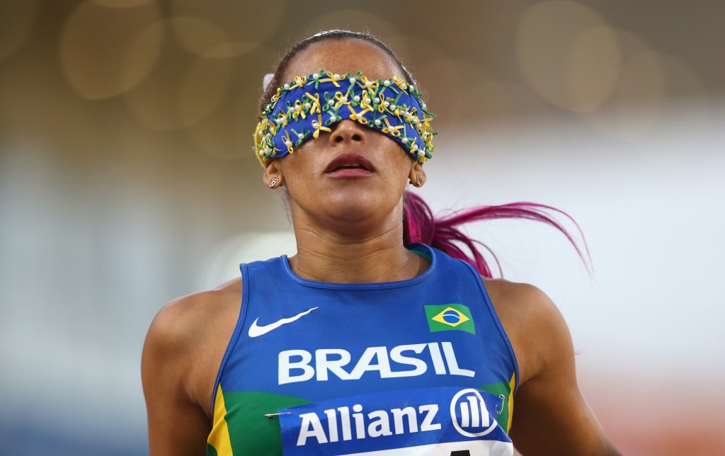 Terezinha Guilhermina will hope to replicate her double gold medal winning performance from London 2012 ©Getty Images