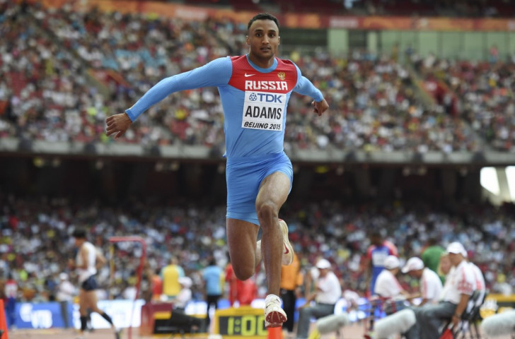 Triple jumper Lyukman Adams is one of 68 Russian athletes who unsuccessfully challenged the IAAF's ban of their country from international track and field competition  ©Getty Images