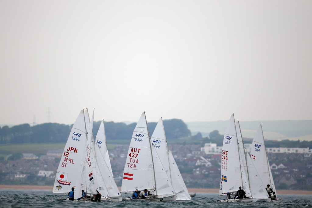 Home sailors dominate Paralympic classes as New Zealand make strides in Olympic events at ISAF World Cup
