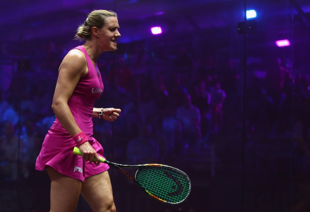 Laura Massaro will headline the women's competition ©Getty Images