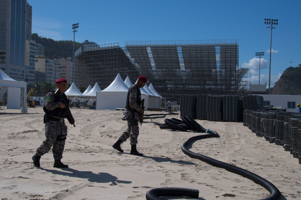 Police have supposedly foiled a Rio 2016 terror plot ©Getty Images