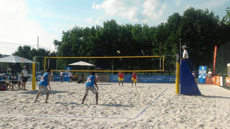 University of Mainz triumph as beach volleyball continues at European Universities Games
