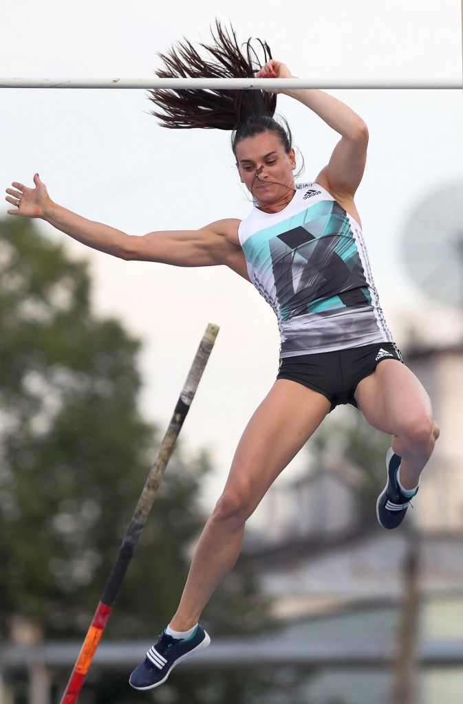 Yelena Isinbayeva is widely considered the greatest female pole vaulter of all time ©Getty Images