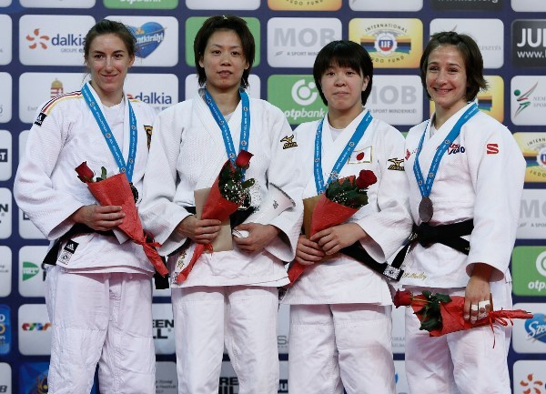 Lien Chen-Ling won Chinese Taipei's first-ever gold medal in the Grand Prix series ©IJF