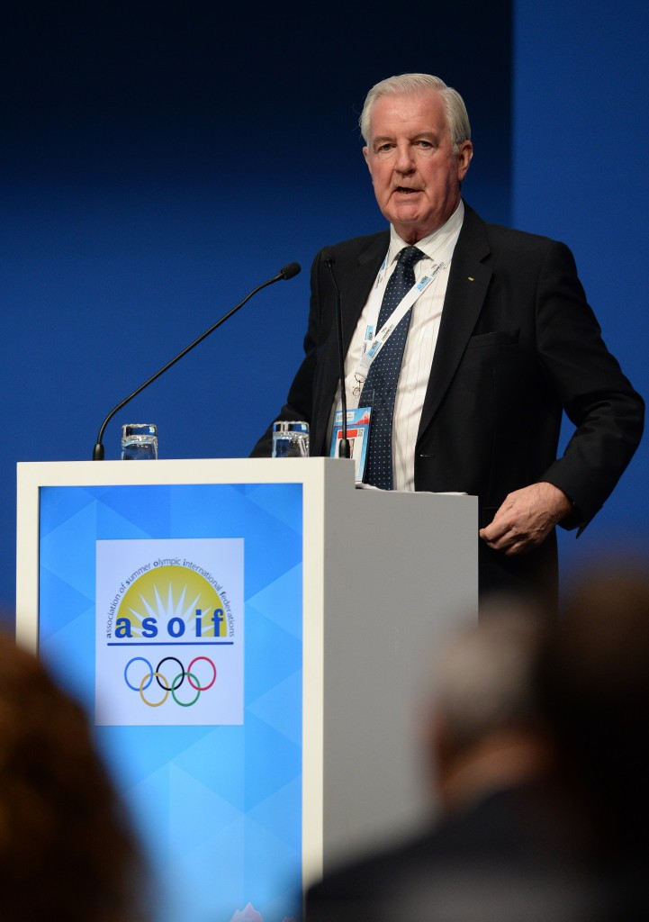 WADA President Sir Craig Reedie revealed details of an investigations fund in May ©Getty Images