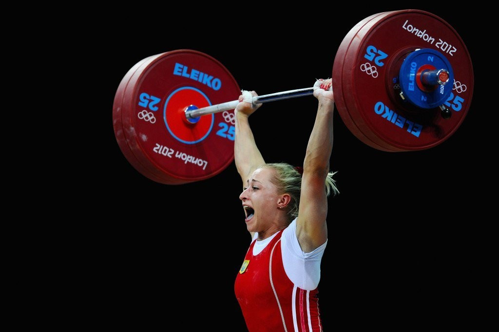 Ukraine's Yulia Kalina was the first athlete to be stripped of a medal ©Getty Images
