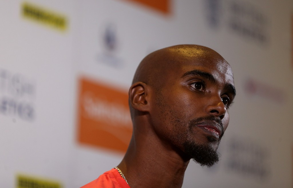 Mo Farah has expressed sympathy for innocent athletes caught up in the IAAF ban on Russia ©Getty Images