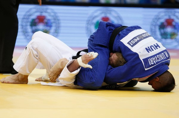 Hungary's Miklos Ungvari beat Slovenia's Rok Draksic in the men's under 73kg final