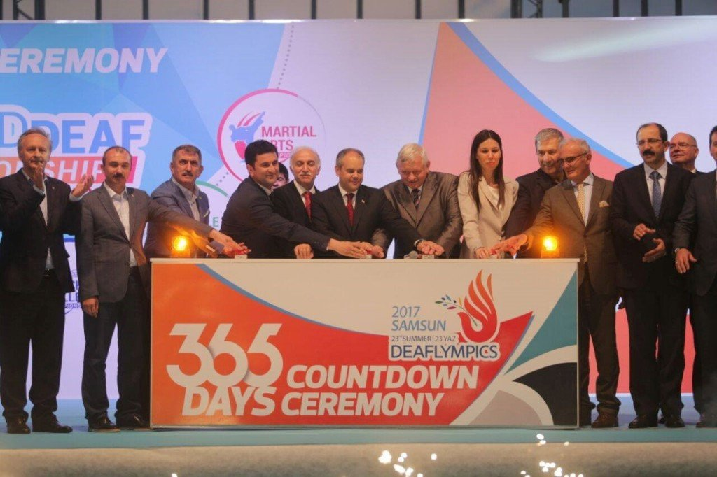 The 2017 Deaflympics are due to take place in Samsun ©ICSD