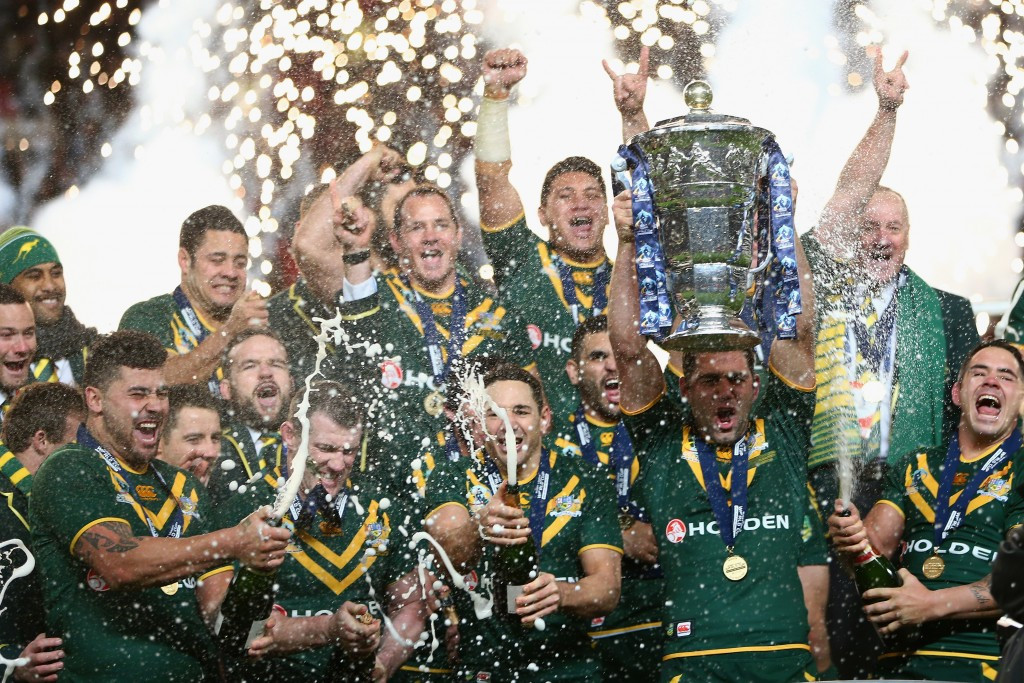 Australia are the reigning world champions after success at the 2013 tournament ©Getty Images
