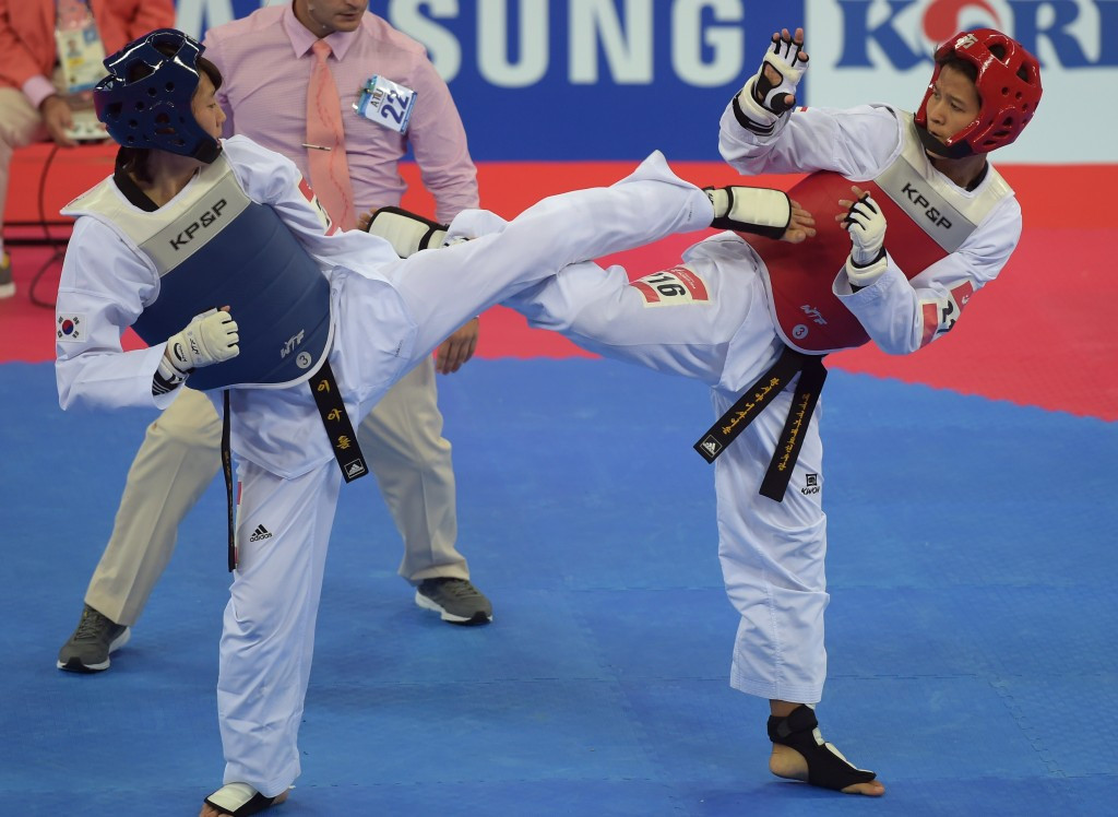 South Korea win all eight senior Kyorugi gold medals at Oceania's inaugural WTF President's Cup