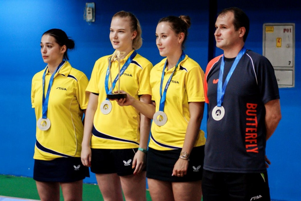 Russian university clinch table tennis titles at European Universities Games