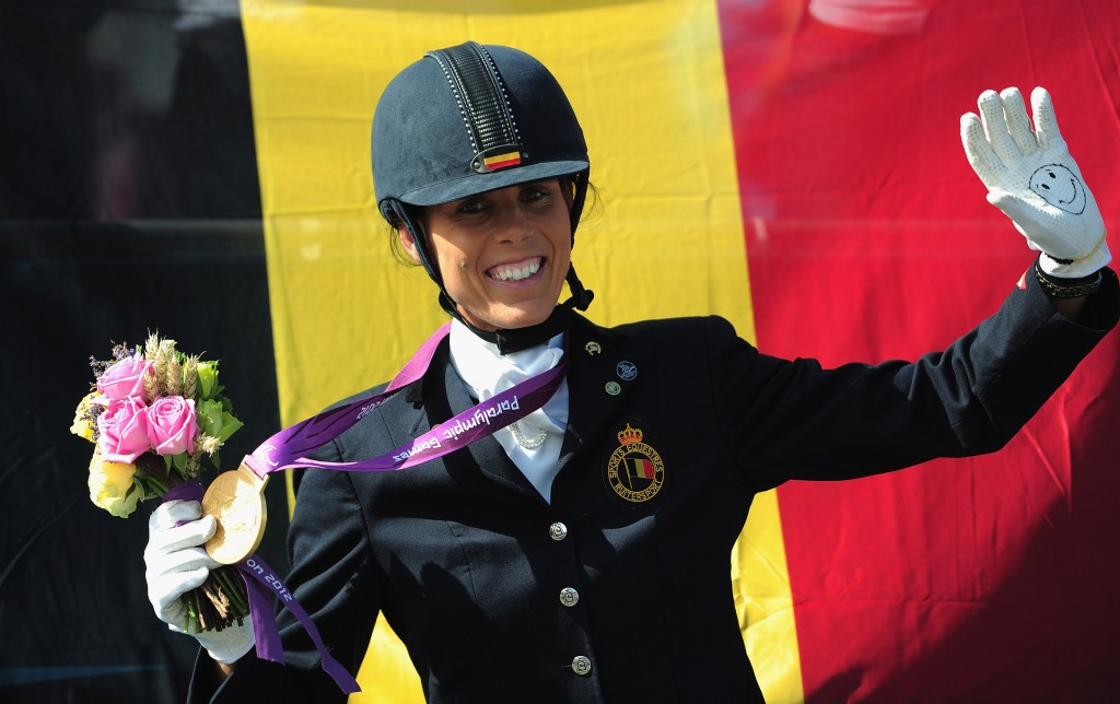 Belgium has announced a four-strong equestrian team for the Rio 2016 Paralympic Games ©Getty Images