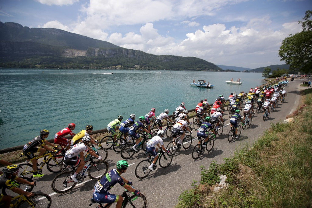 The penultimate Alpine stage of the Tour de France saw a shake up in the podium places ©Getty Images