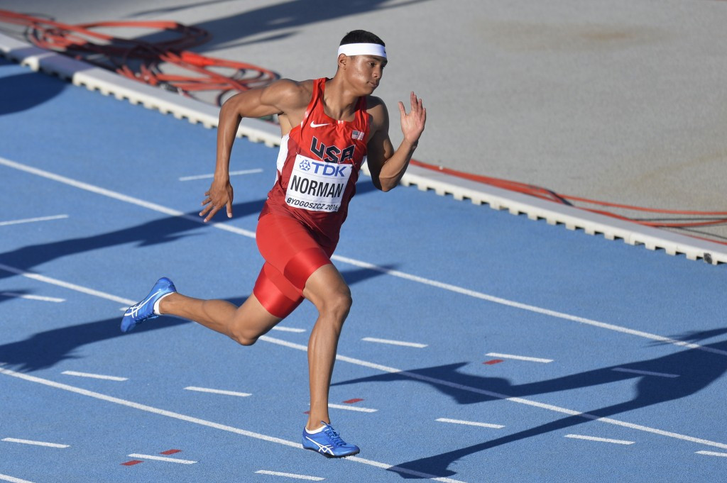 American Norman Jr claims world junior 200m crown in Championship record time