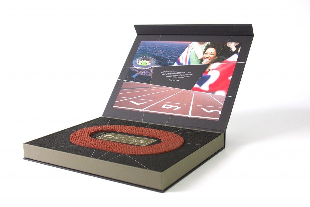 Athletics fans are being given the chance to own a piece of the iconic London 2012 track after it was successfully removed from the former Olympic Stadium ©Run Communications