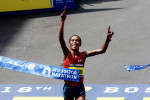 Kenya's Rita Jeptoo, pictured winning the 2014 Boston Marathon, was suspended for doping in January. Now her agent has been suspended by Athletics Kenya pending further investigations ©Getty Images