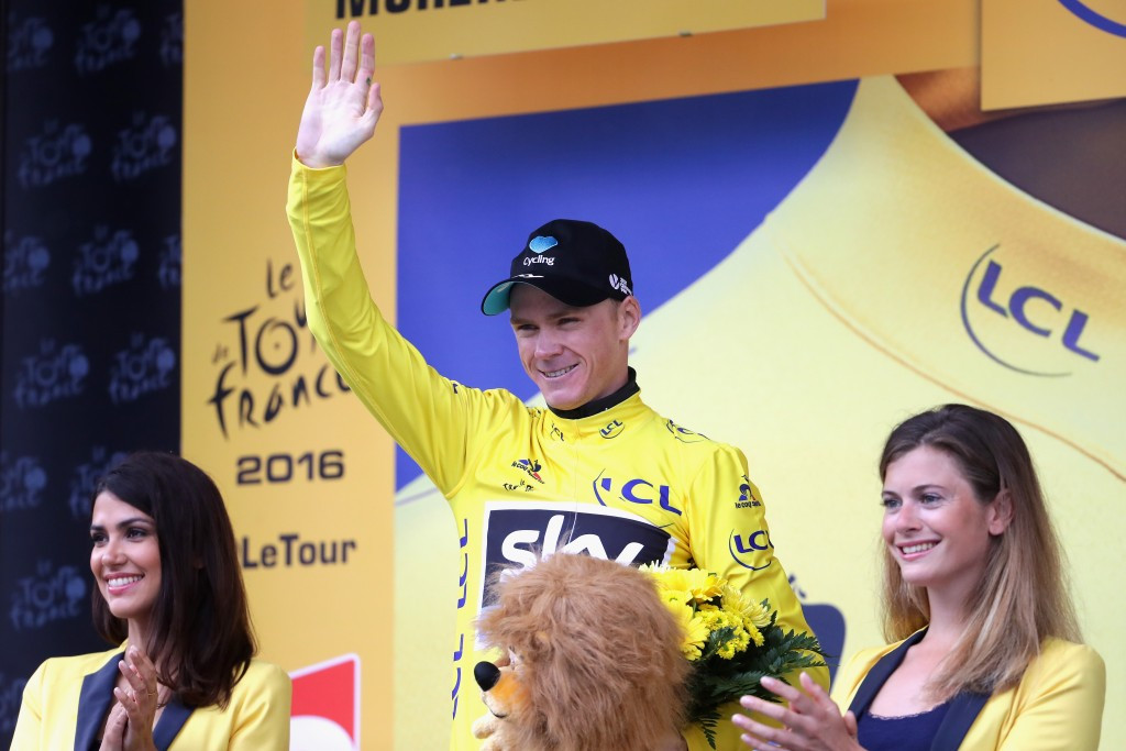 Chris Froome is poised to seal a third Tour de France crown ©Getty Images