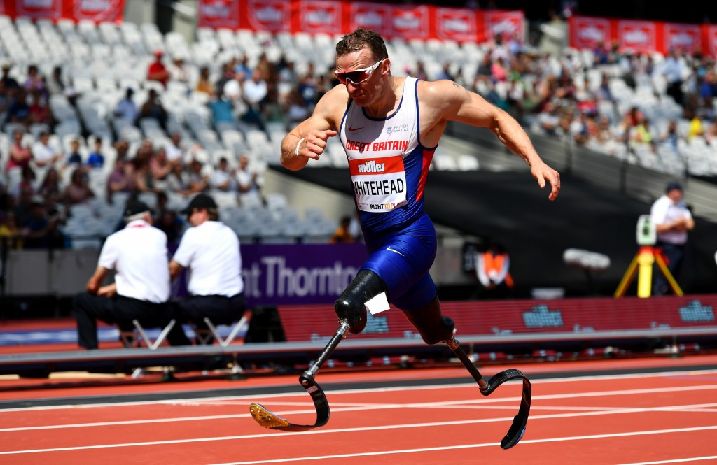 Whitehead and Clegg raise Paralympic hopes with world records on home ground of London