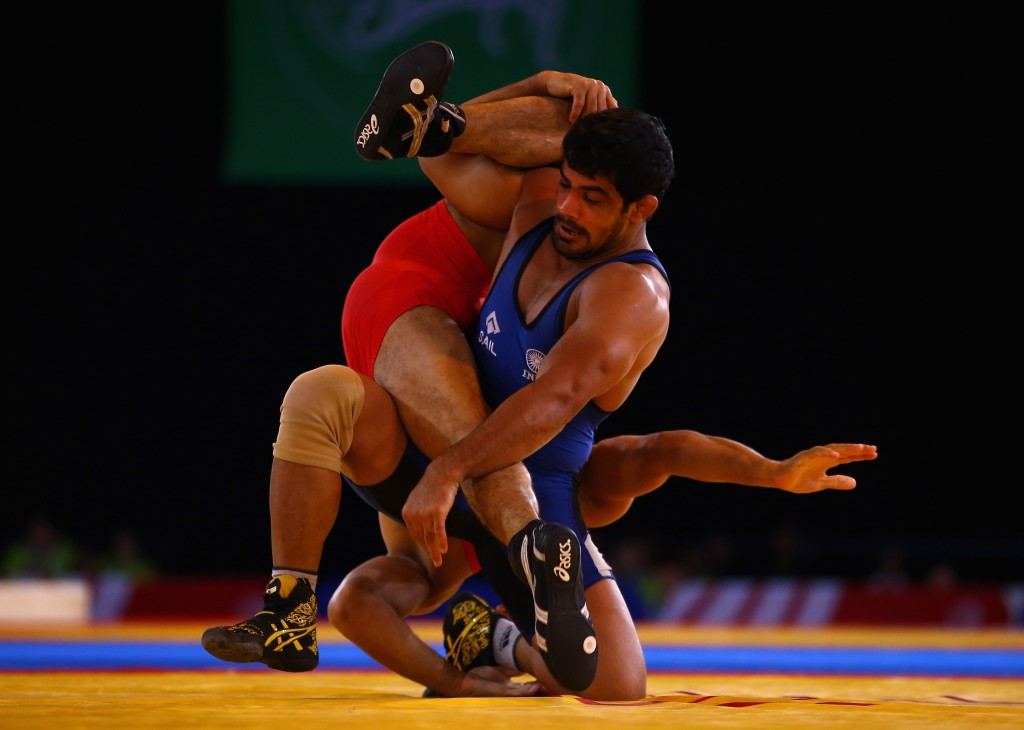 Narsingh Yadav was involved in a selection dispute with Sushil Kumar ahead of Rio 2016 ©Getty Images