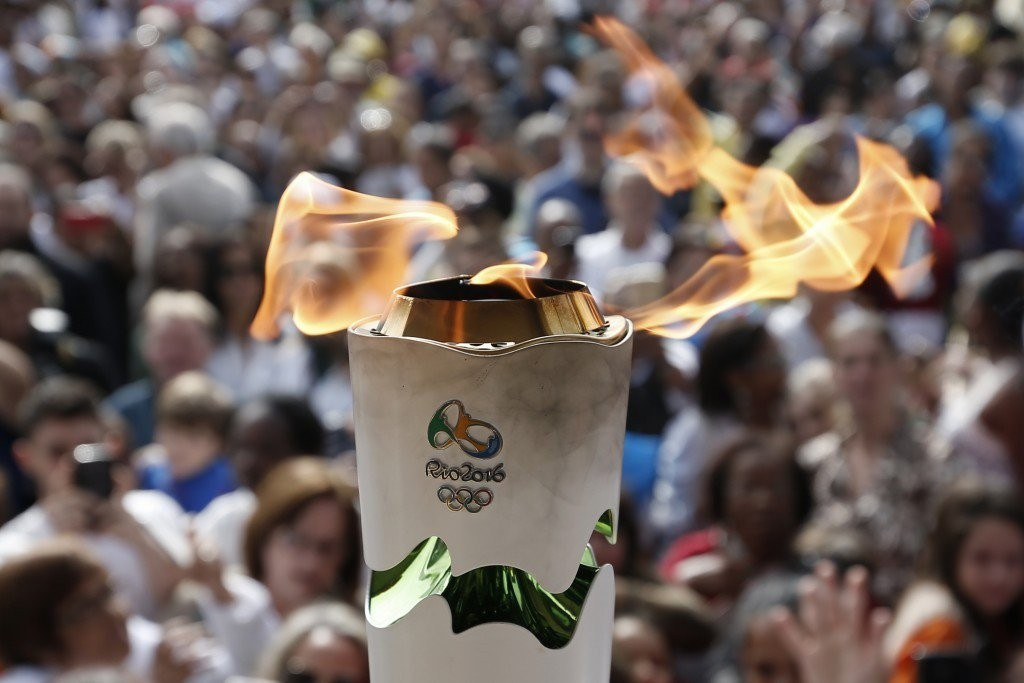 Man arrested after latest protest against Rio 2016 Torch Relay