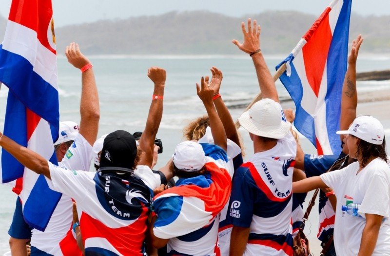 Costa Rica have named their squad for this year's ISA World Surfing Games ©ISA