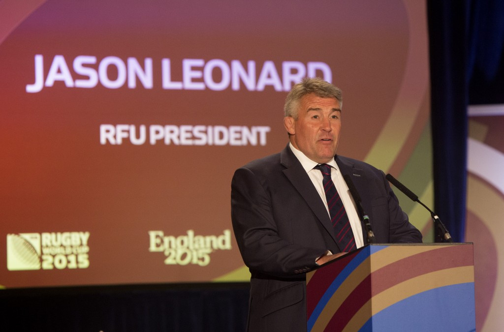 Jason Leonard won the rugby union World Cup with England ©Getty Images