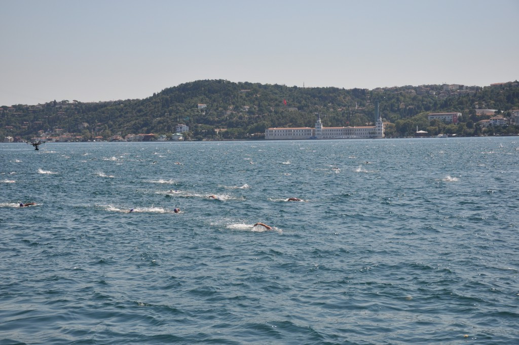 The Bosphorus swim has become a major annual event ©Getty Images