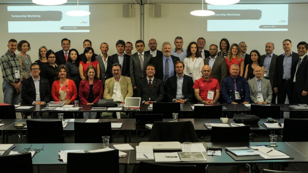 The WTF Partnership Workshop was held in Lausanne last month ©WTF