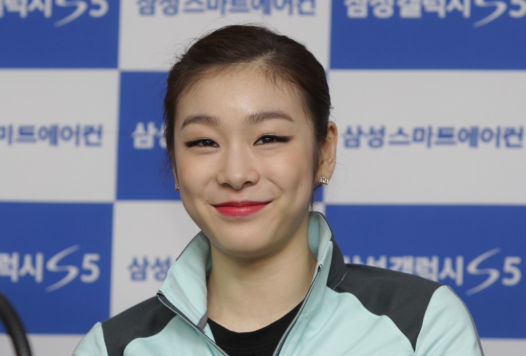 Olympic figure skating gold medallist Kim Yuna is now eligible for South Korea's top sporting honour ©Getty Images