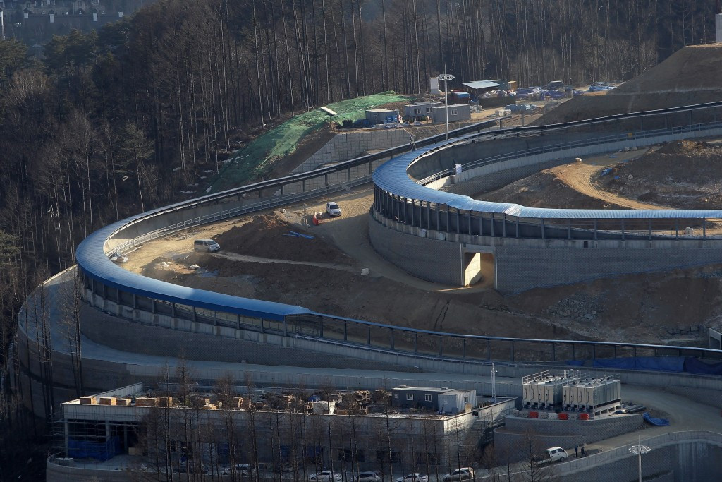 The Alpensia Sliding Centre will host a Luge World Cup event for the first time next year ©Getty Images