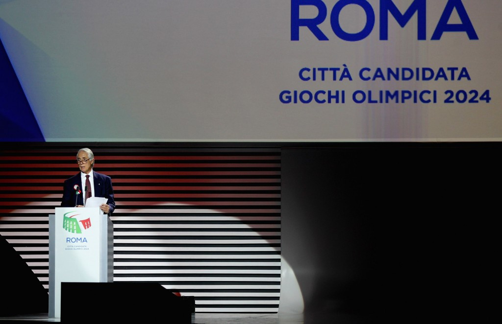 The IOC have faced similar problems after a withdrawal from Rome and other cities bidding for the Olympics ©Getty Images