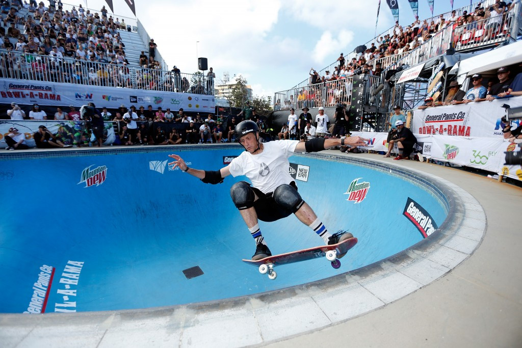 Skateboarding legend Hawk backs sport's inclusion at Tokyo 2020 Olympic Games