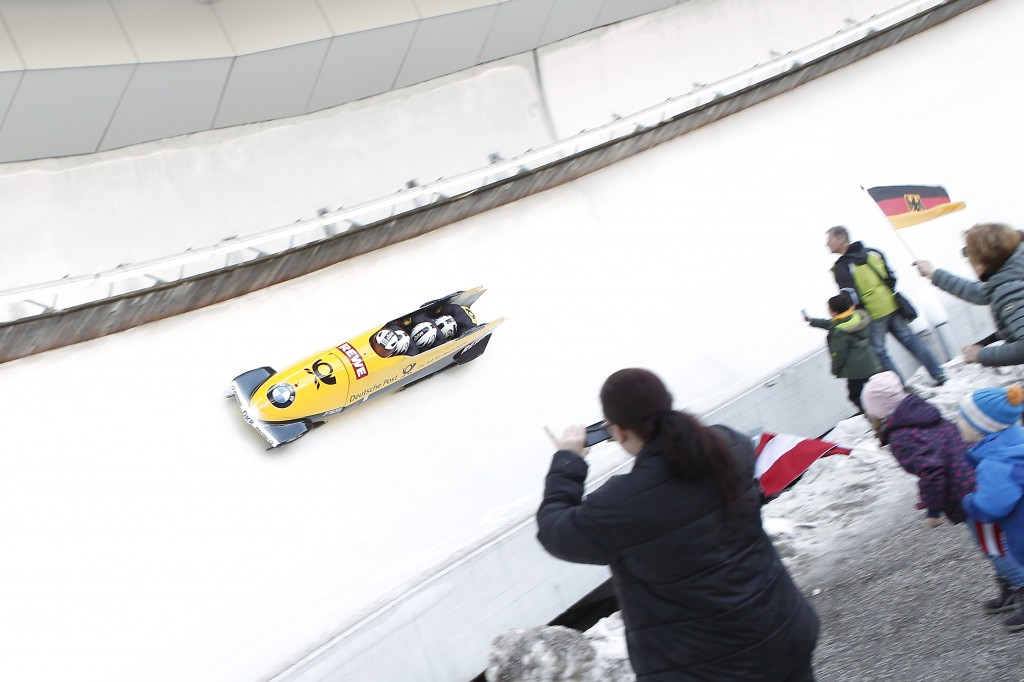 Olympiabobbahn Igls will also host important bobsleigh and skeleton events in 2016-17 ©Getty Images