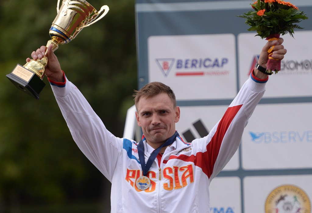 Russian modern pentathlete Ilia Frolov has been excluded from Rio 2016 ©Getty Images