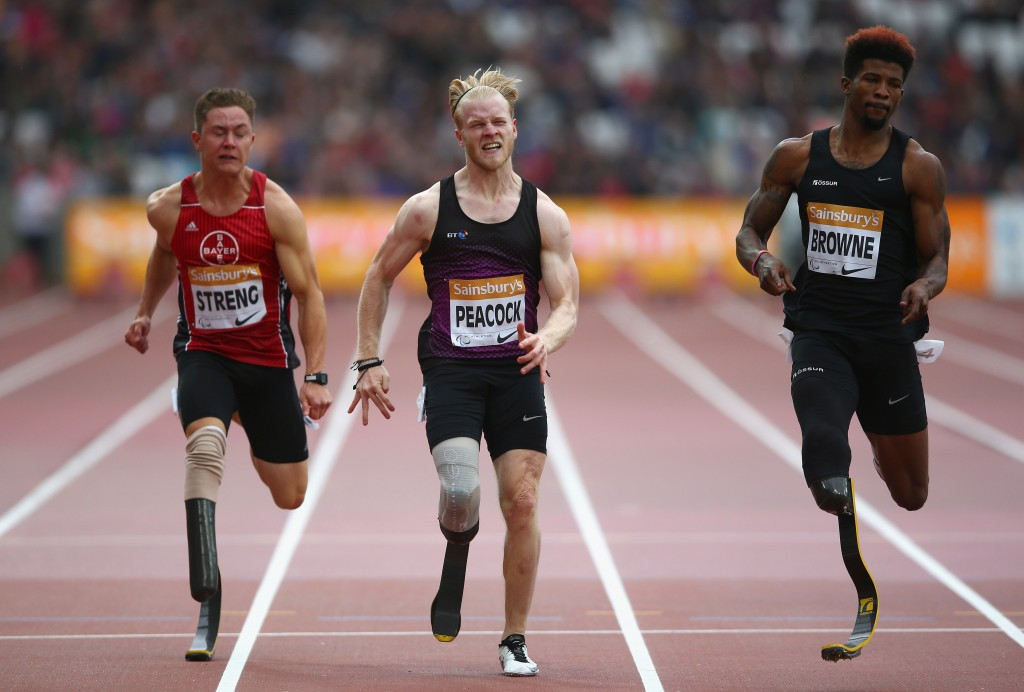 Britain add Peacock and Clegg to Paralympics team for Rio 2016