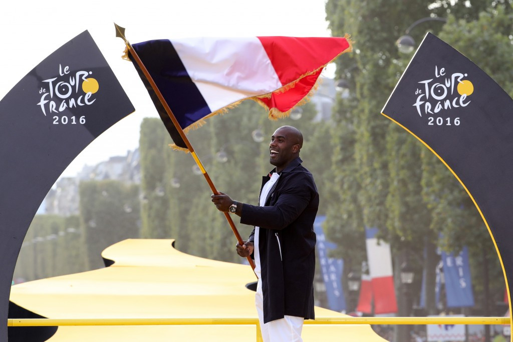 Riner hails Paris' ability to host major events after being named as France's Rio 2016 flagbearer