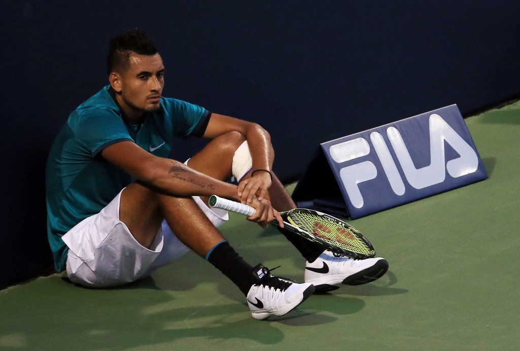 Kyrgios crashes out of Rogers Cup after shock defeat to Wimbledon junior champion