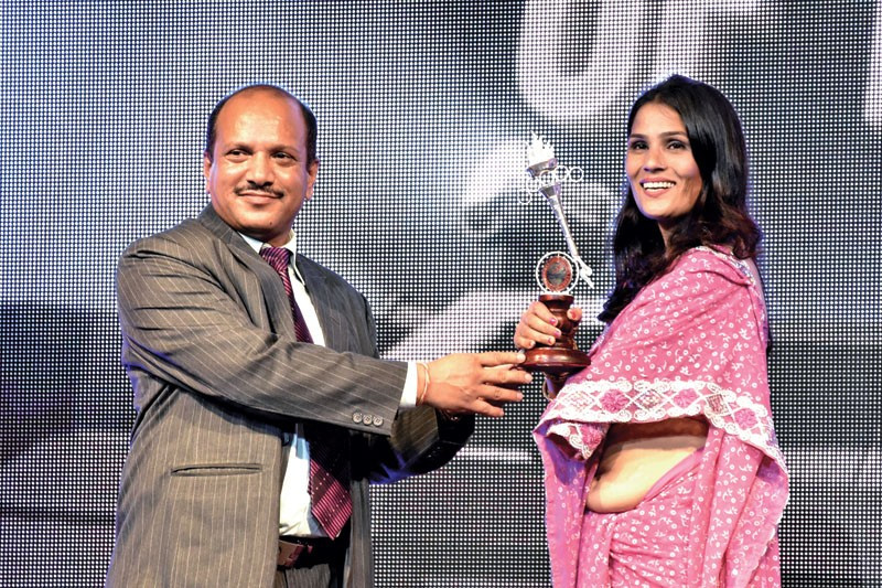 Nepal taekwondo player Sita Bhandari was crowned as the Para-athlete of the Year at the Pulsar Sports Awards ceremony ©Facebook/Nepal Sports Journalists Forum