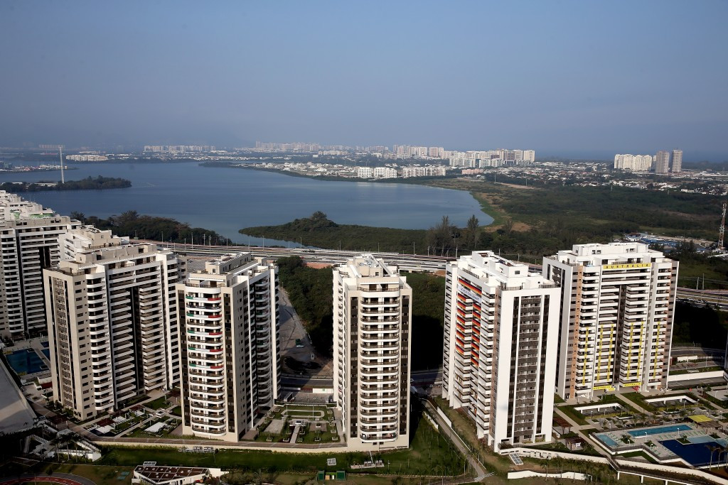Concerns remain with the Rio 2016 Athletes Village as more teams arrive ©Getty Images